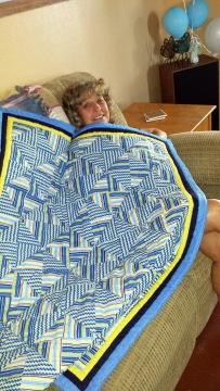 Bundle's Blanket and Grandma